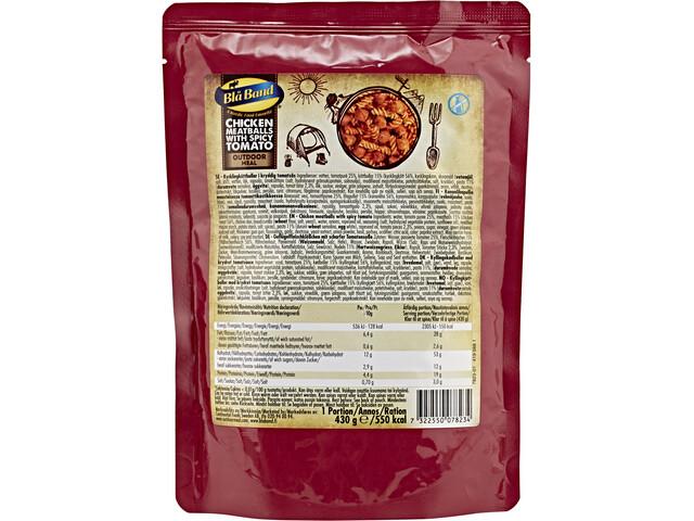 Blå Band Żywność turystyczna, Chicken Meatballs with spicy Tomato Sauce